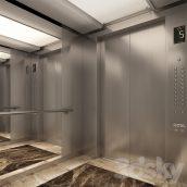 مدل سه بعدی آسانسور