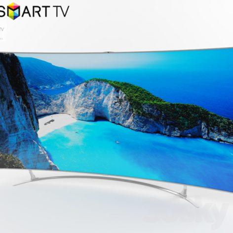 مدل سه بعدی تلویزیون