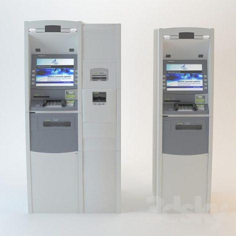 مدل سه بعدی دستگاه عابر بانک