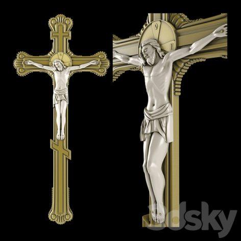 مدل سه بعدی صلیب