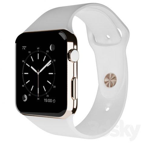 مدل سه بعدی ساعت مچی