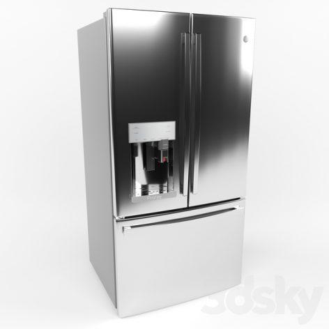 مدل سه بعدی یخچال