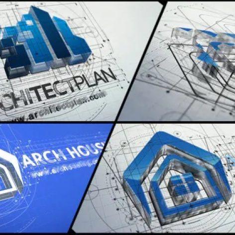 لوگو موشن معماری