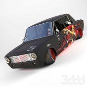 آبجکت ماشین مسابقه