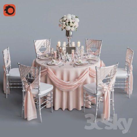آبجکت میز عروسی 1