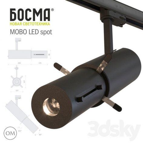 آبجکت چراغ ال ی دی نقطهی 1