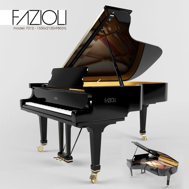 آبجکت آماده پیانو 1