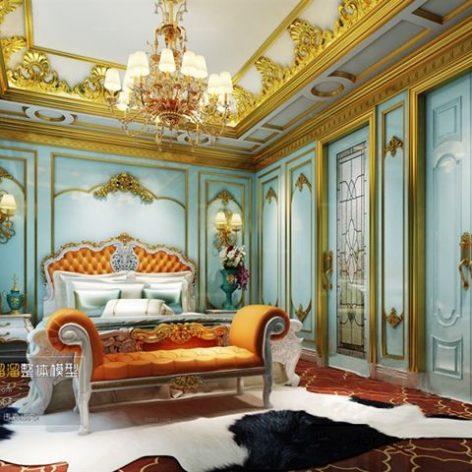 مدل سه بعدی داخلی اتاق خواب 1