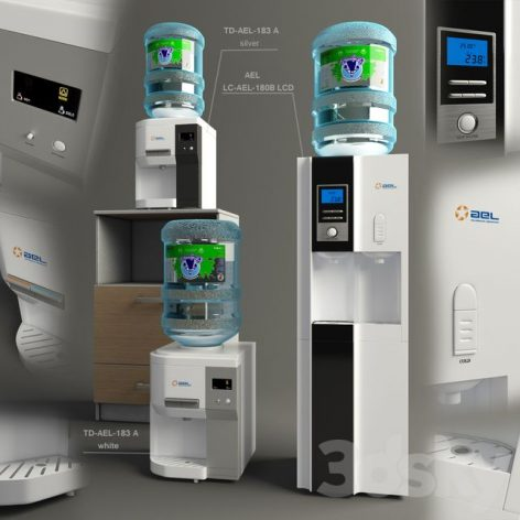 آبجکت آماده فیلتر آب ۱ در تردی مکس و وی ری (۳d max & V.ray)