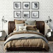 مدل سه بعدی داخلی اتاق خواب 2