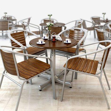 آبجکت ست میز و صندلی 1