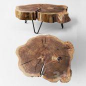 آبجکت میز درختی در تردی مکس