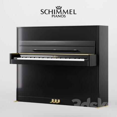 آبجکت پیانو در تردی مکس