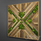 آبجکت پانل چوبی