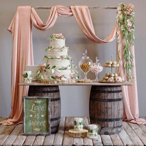 آبجکت آماده دکور عروسی 1