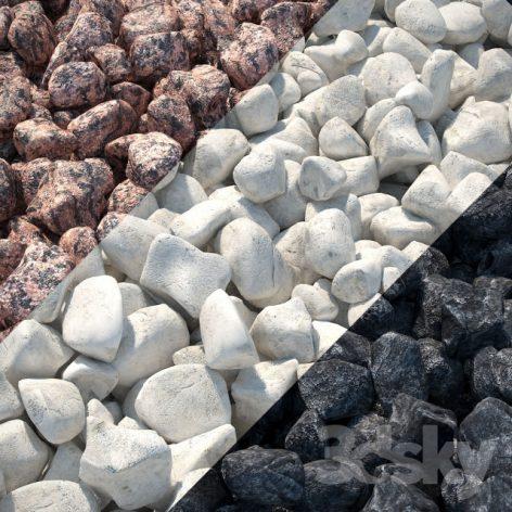 آبجکت سنگ محوطه