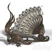 آبجکت مجسمه طاووس در تردی مکس