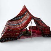 آبجکت چادر صحرایی در تردی مکس