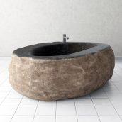 آبجکت وان سنگی حمام
