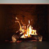 آبجکت آتش شومینه در تردی مکس