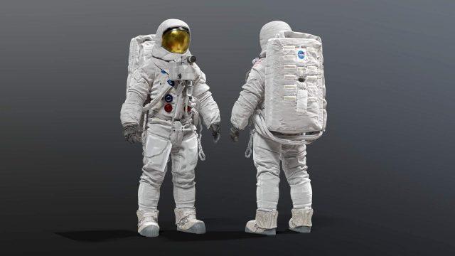 آبجکت فضانورد ناسا در تردی مکس
