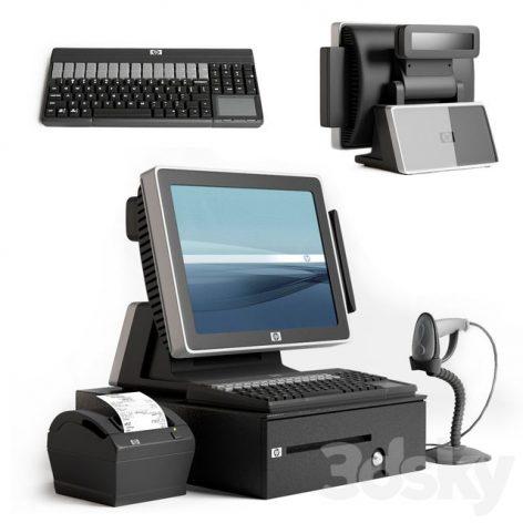 مدل سه بعدی کامپیوتر صندوقداری