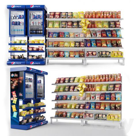 Mall Stand-