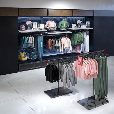 مدل سه بعدی لباس مغازه