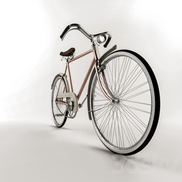 آبجکت دوچرخه کلاسیک