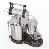 مدل سه بعدی دستگاه الکل ساز