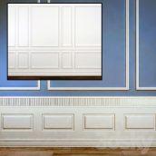 مدل سه بعدی دیوار کلاسیک