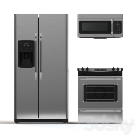 مدل سه بعدی ست آشپزخانه 1