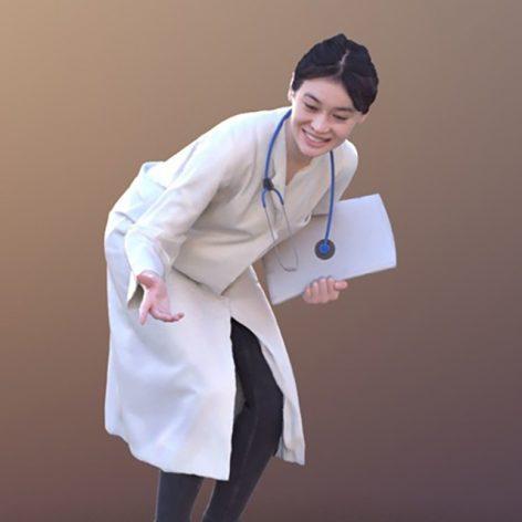 مدل سه بعدی دکتر