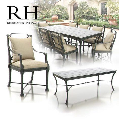 آبجکت ست میز و صندلی