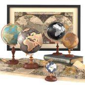 آبجکت نقشه جهان
