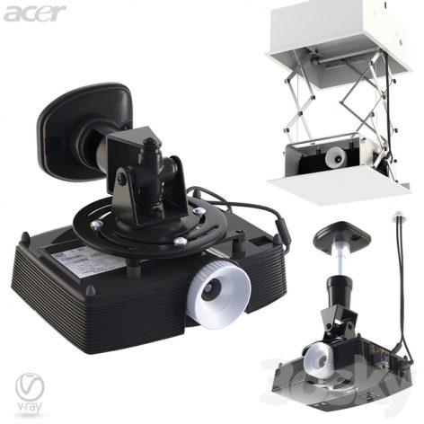 مدل سه بعدی کالکشن پروژکتور