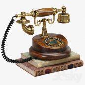 مدل سه بعدی تلفن کلاسیک
