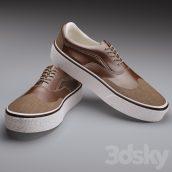 مدل سه بعدی کفش مردانه