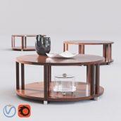 مدل سه بعدی میز گرد تکی