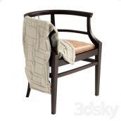 آبجکت صندلی چوبی