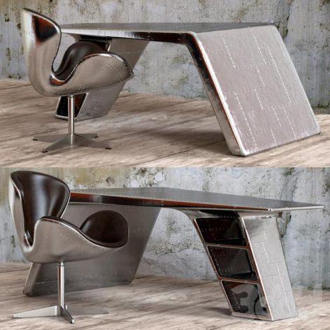 آبجکت میز مدرن اداره