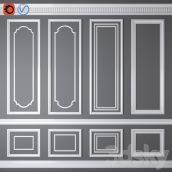 مدل سه بعدی گچ بری 08