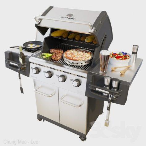 مدل سه بعدی کباب پز