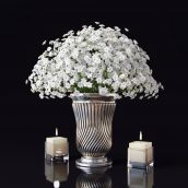 مدل سه بعدی گلدان فلزی