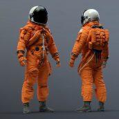 مدل سه بعدی فضانورد ناسا