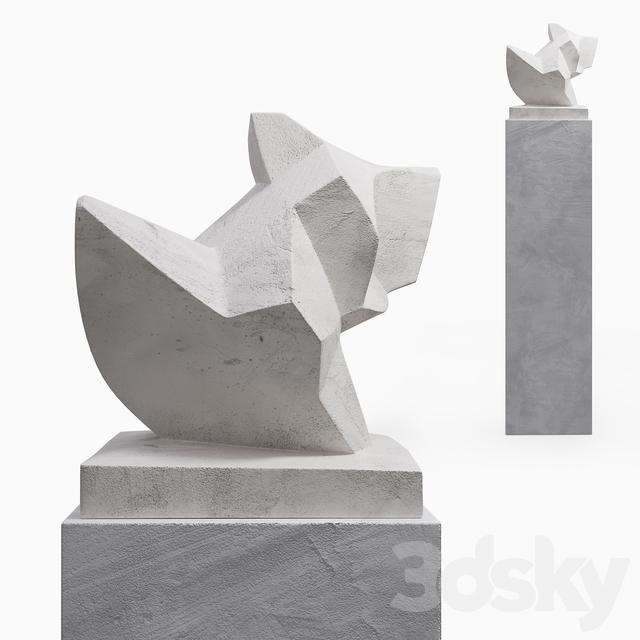مدل سه بعدی المان سنگی