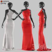 مدل سه بعدی مانکن زن