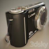 مدل سه بعدی دوربین پاناسونیک