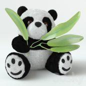مدل سه بعدی عروسک پاندا