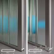 مدل سه بعدی پروفایل شیشه